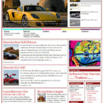 WordPress Theme Barthami Red
